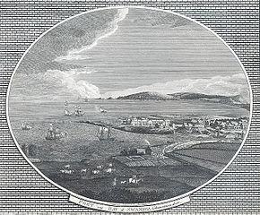 Port and bay of Swansea, Glamorganshire