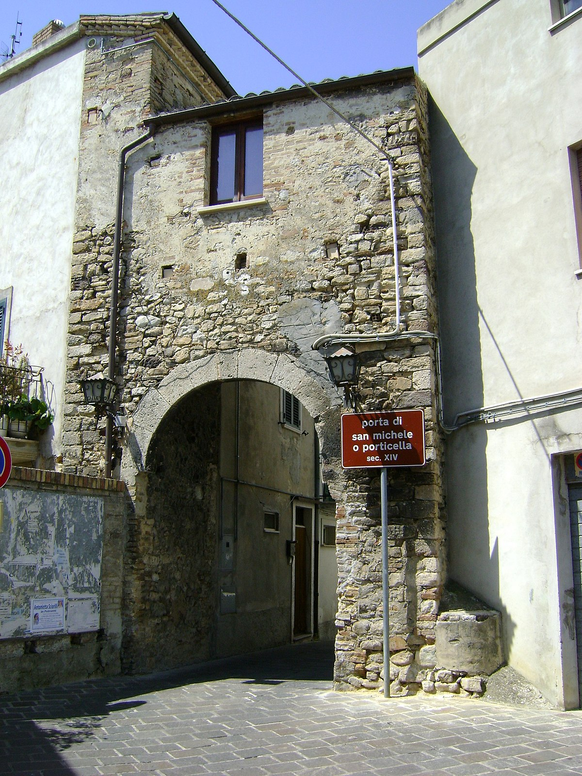 Porta di san michele atessa wikipedia - San michele a porta pia ...