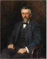 Portrait of Edward Dowden - Walter Frederick Osborne.PNG
