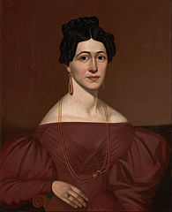 Portrait of Eliza C. Ayres