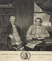 George Allan Esqr. F.A.S. and William Hutchinson Esqr. F.A.S
