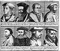 Portraits of J. Sylvius, I. Vadianus, H. Fracastori... Wellcome L0002368.jpg