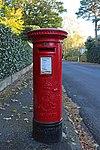 Post box at Pine Walks, Prenton.jpg