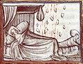 Présage à la naissance de Philippe d'Orléans (Fleurs des chroniques - Besançon - BM - MS 677 - fol 83).jpg