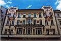 Praha - Národní třída - View North & Up on 'Topic'-Building - Jugendstil.jpg