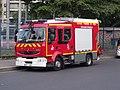 Premier-secours évacuation PS 236 des pompiers de Paris.jpg