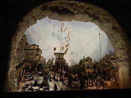 Presepio Cuciniello, al Museo nazionale di San Martino di Napoli, realizzato tra XVIII e XIX secolo