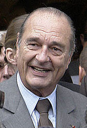 Photographie de Jacques Chirac.