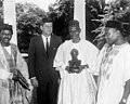 President John F. Kennedy Meets with Abubakar Tafawa Balewa, Prime Minister of Nigeria (01).jpg