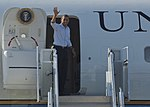 President Obama departs Langley 120713-F-CJ792-015.jpg