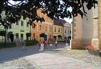 Historic houses and St. Nicolaus Church Presov - historic houses and St. Nicolaus Church.jpg