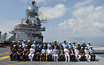 Prime Minister Narendra Modi chairs Combined Commanders' Conference on board the INS Vikramaditya.jpg