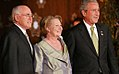Prime Minister of Australia John Howard, Janette Howard, and President George W. Bush.jpg