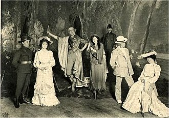 A Princess of Kensington - Postcard, 1903