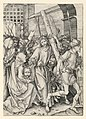 Print, Christ Carrying the Cross (Road to Calvary), from series The Passion of Christ, ca. 1485 (CH 18383859).jpg
