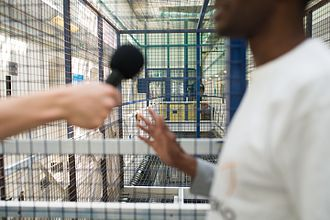 HM Prison Brixton - A radio interview recording in HMP Brixton