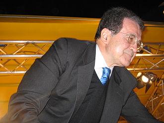 2006 Italian general election - Romano Prodi during the electoral campaign.