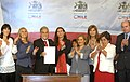 Promulgation of law against femicide Chile.jpg