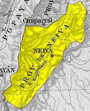 Neiva Province - Image: Provincia Neiva