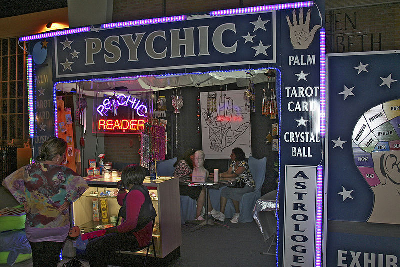 Psychic Reading Booth