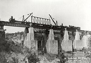 Ferrosur - Image: Puente La Soledad Mexico February 23, 1909