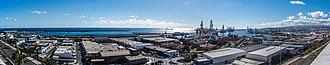 Port of Las Palmas - Image: Puerto Las Palmas D81 6472 (32536213726)