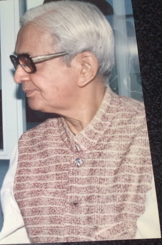 Purushottam Mavalankar - Purushottam Mavalankar in Ahmedabad (1995).