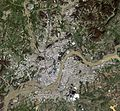 Pyongyang satellite image 2007-08-22.jpg