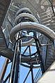 Pyramidenkogelturm Konstruktions-Detail Treppe Rutsche 08072013 144.jpg