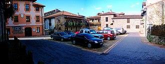 Liérganes - Plaza del Marqués de Valdecilla in Liérganes.
