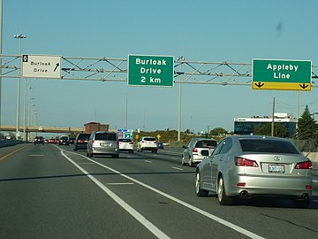 QEW, Pre-Advance Overhead sign.jpg
