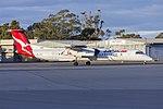 QantasLink (VH-QOU) Bombardier DHC-8-402Q taxiing at Wagga Wagga Airport.jpg