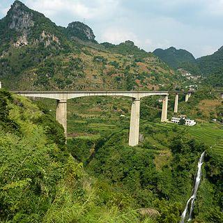Nanning–Kunming railway