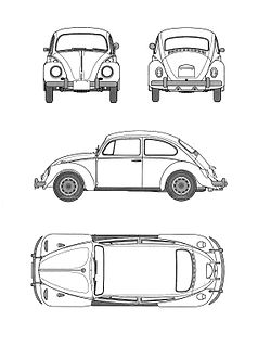 Image Result For Vw Bug Coloring