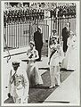 Queen Elizabeth II at the opening of NSW Parliament - Royal Visit, 1954 (12108501385).jpg
