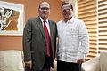 Quito, Canciller Patiño se reunió con el Secretario del ALBA (10430256735).jpg