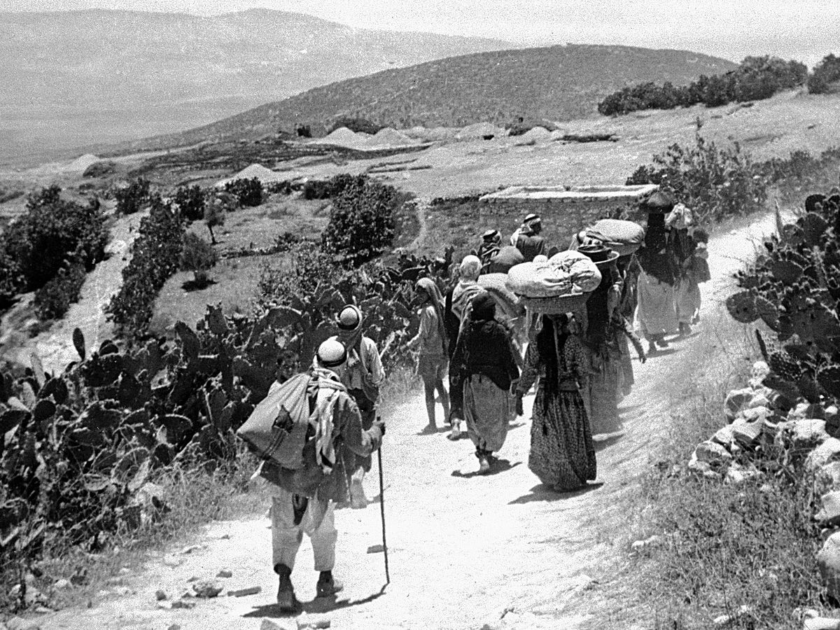 jewish immigration to palestine 1945 1948 Timeline of israel palestine conflict 1942-1948 ending with the  for open  immigration to palestine and the establishment of a jewish commonwealth there   1945-1947: yishuv mounts a campaign of sabotage against the.