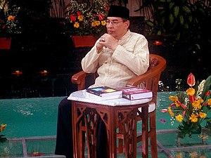 Bahasa Indonesia: M. Quraish Shihab dalam reka...
