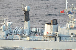 Type 052 destroyer - YJ-83