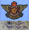 RCAF WWII -16 SFTS Motor Transport, Crest Craft back-stamp, circa 1943.jpg