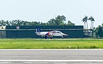 ROCAFA AT-3 0813 Taxiing at Gangshan Air Force Base Runway 20170812.jpg