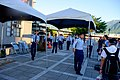 ROCAF Sergeants Moving Tent in Front of Hualien County Tourist Service Center 20170923.jpg