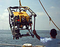 ROV with SBL Transponder PILOT.JPG