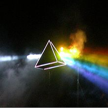 Обкладинка альбому «Dark Side of the Moon» (Pink Floyd, 1973)