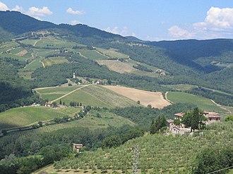 Radda in Chianti - Image: Radda, Tuscany views (2008)