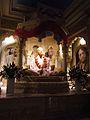 Radha Krishna Temple Prabhupada Murti.JPG