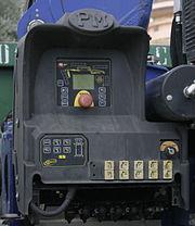 Postazione con scheda per ricevitore comando a distanza