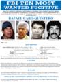 Rafael Caro Quintero - FBI Most Wanted Poster.png