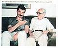 Rafael Flores y Osvaldo Pugliese en 1990.jpg