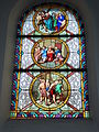 Raimbeaucourt (Nord, Fr) église, vitrail 09.JPG